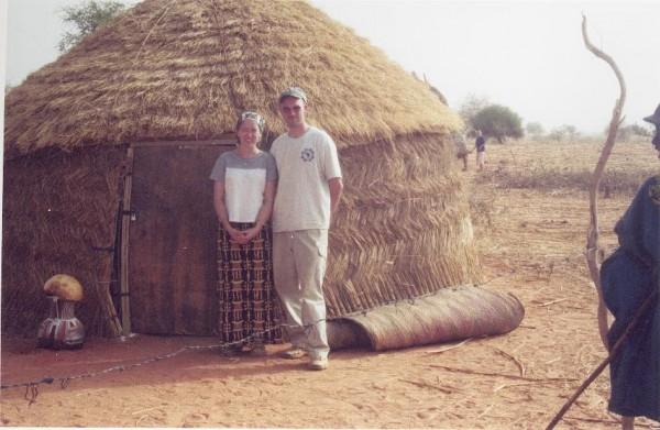 Amanda and Michael hut
